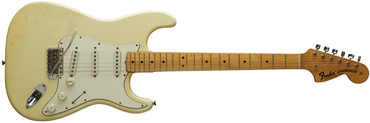 Fender Stratocaster z roku 1968