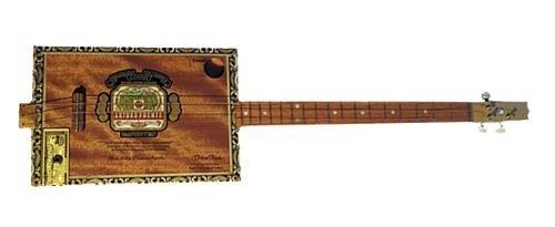 Kytara  z krabice od cigaret
